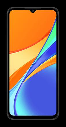 Xiaomi redmi 9c gris frontal movistar