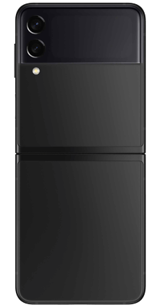 Z Flip negro posterior