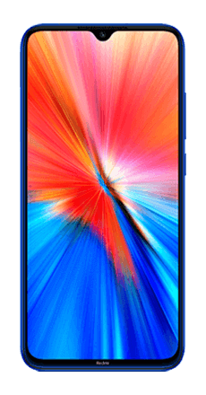 xiaomi redmi note 8 2021 azul frontal